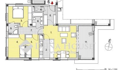 Eladó Lakás, Budapest, 2 kerület, Zöldmálon 1+ 3 hálós, 1. emeleti lakás télikerttel