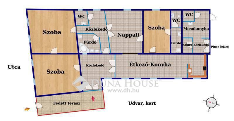 Eladó Ház, Csongrád megye, Csongrád, Központ