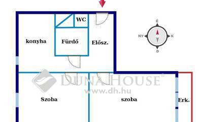 Eladó Lakás, Baranya megye, Pécs, Kertváros kedvelt részén 2 szobás erkélyes lakás