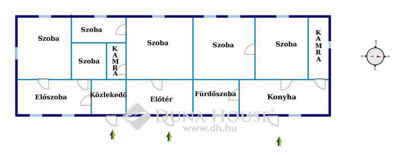 Eladó Ház, Csongrád megye, Csongrád, Táncsics Mihály utca