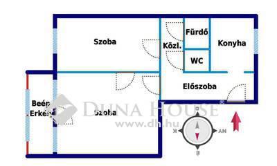 Kiadó Lakás, Budapest, 8 kerület, Baross utca: frissen festett lakás, szigetelt ház