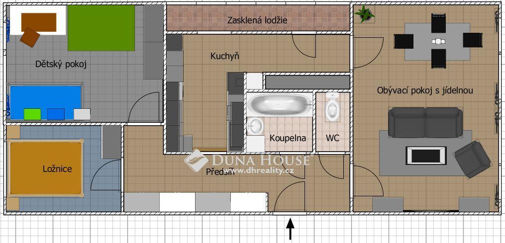 Prodej bytu, Holandská, Kladno