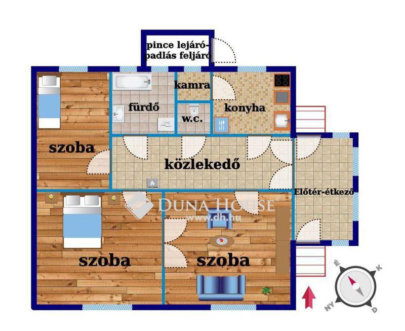 Eladó Ház, Bács-Kiskun megye, Kecskemét, Hunyadiváros központi részén, csendes utcában