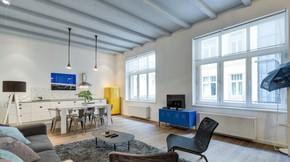 Kiadó lakás, Budapest 5. kerület, Bohém luxuslakás a Lánchíd szomszédságában