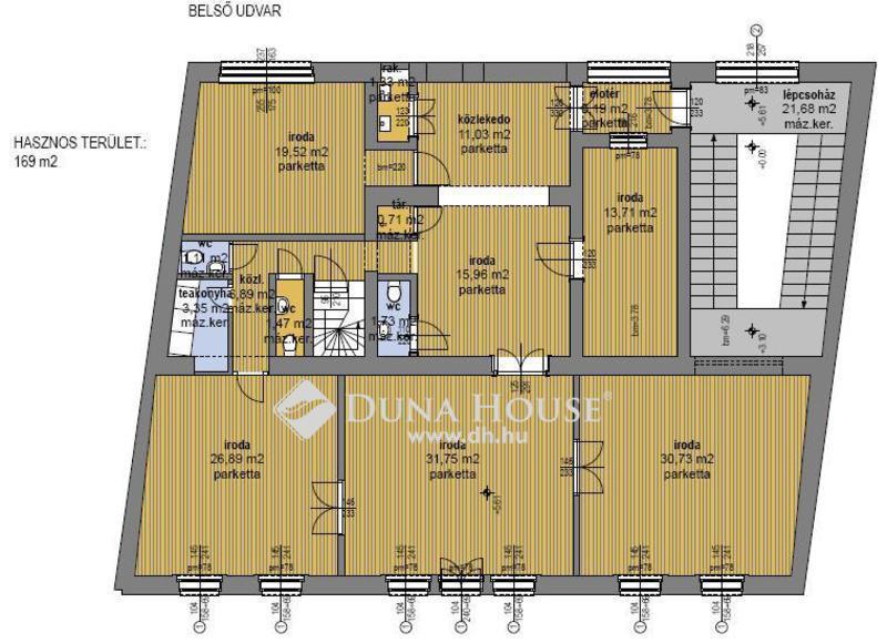 Eladó Irodaház, Budapest, 1 kerület, Fejleszthető polgári ház