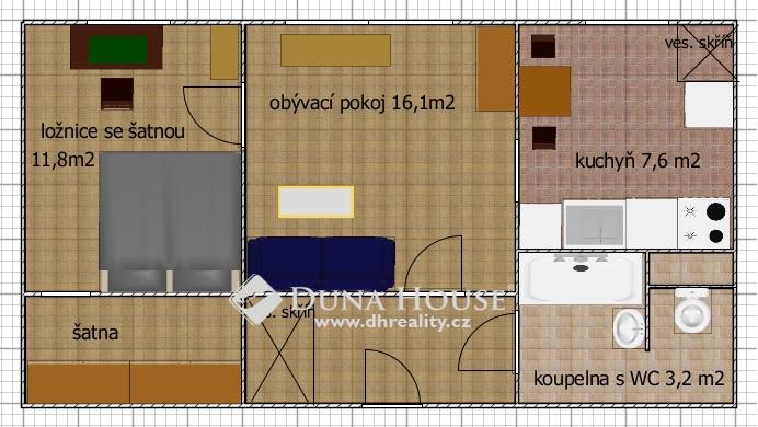 Prodej bytu, Dreyerova, Praha 5 Hlubočepy