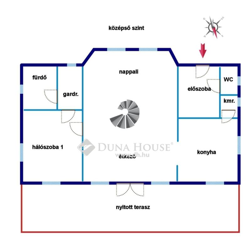 Eladó Ház, Budapest, 2 kerület, Csendes panorámás