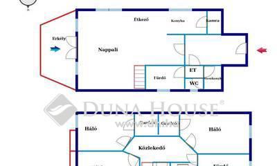 Eladó Ház, Budapest, 17 kerület, 2 HÁZ 1 ÁRÁÉRT RÁKOSKERTBEN,GARÁZZSAL,ÉS BEÁLLÓVAL
