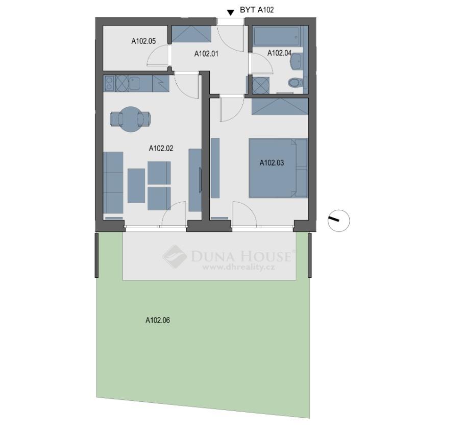 Prodej bytu, V Kněžívce, Tuchoměřice