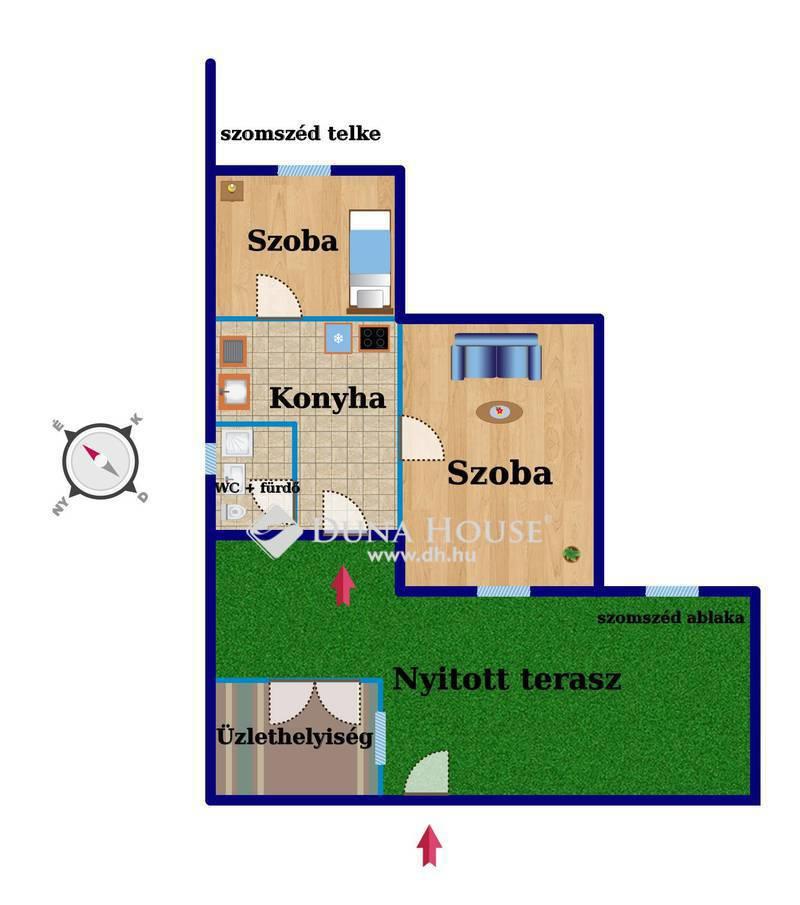 Eladó Lakás, Budapest, 9 kerület, 2 SZOBA + ÜZLETHELYISÉG