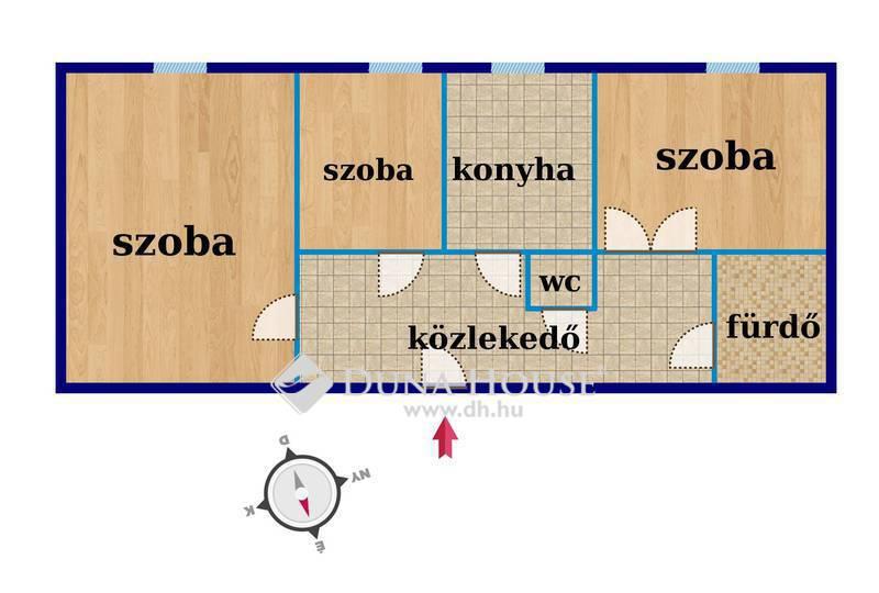 Eladó Lakás, Baranya megye, Komló, Bajcsy-Zsilinszky utca