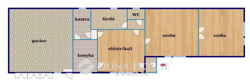 Eladó Ház, Budapest, 22 kerület, Bővíthető ház Budatétényben