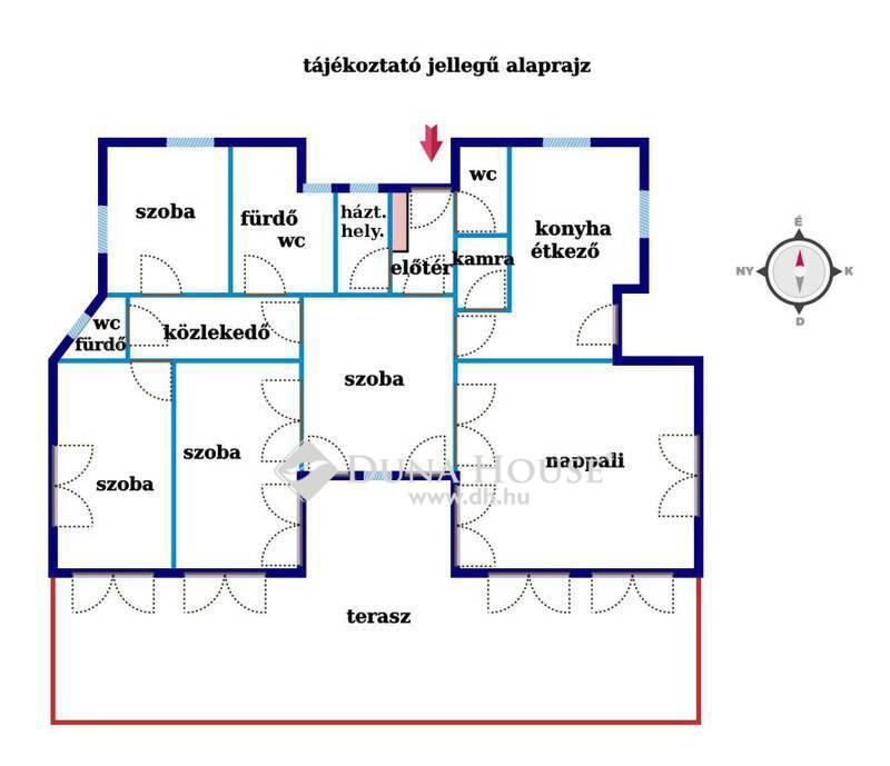 Eladó Lakás, Budapest, 12 kerület, 5 szoba, kert, 72 nm déli terasz, garázsok