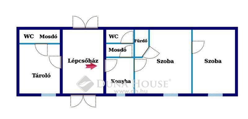 Eladó Lakás, Bács-Kiskun megye, Kecskemét, Máriavárosban, fszt.-i, 2 szobás, új lakás