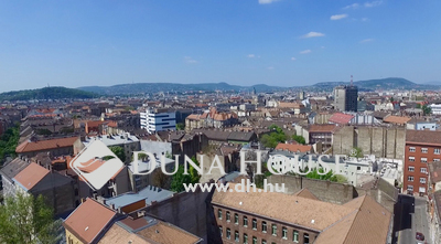 Eladó Lakás, Budapest, 8 kerület, Panorámás, nagy teraszos, 2 szintes lakások