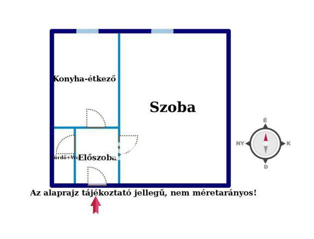 Eladó Lakás, Győr-Moson-Sopron megye, Győr, Azonnal költözhető garzon lakás!