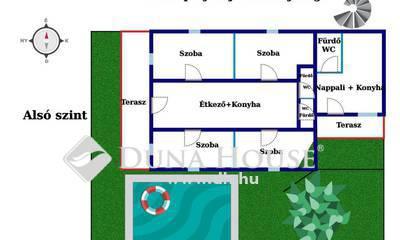 Eladó Ház, Somogy megye, Zamárdi, Balaton Sound területe