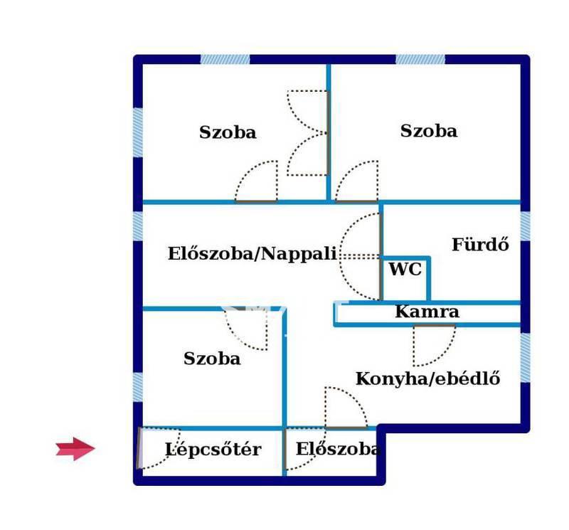 Eladó Ház, Bács-Kiskun megye, Kiskunfélegyháza, Szendrei Júlia utca