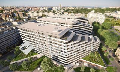 Eladó Lakás, Budapest, 9 kerület, Kertkapcsolatos, nagy teraszos lakás a Müpánál