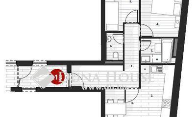 Eladó Lakás, Zala megye, Zalaegerszeg, II.em, 67 m2, nappali + 2 szobás