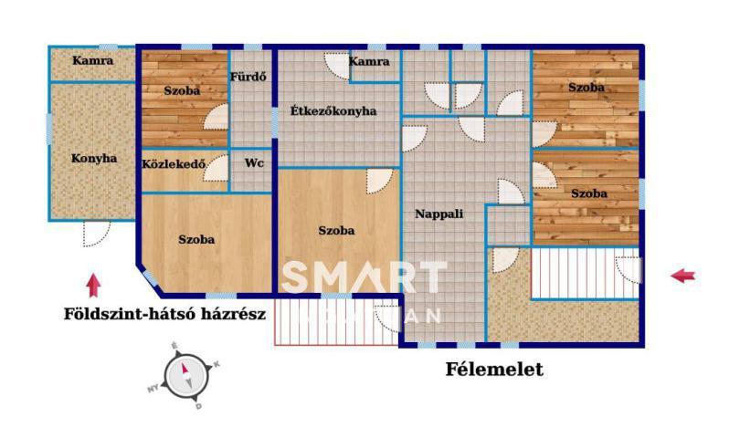Eladó Ház, Budapest, 22 kerület, XV. utca