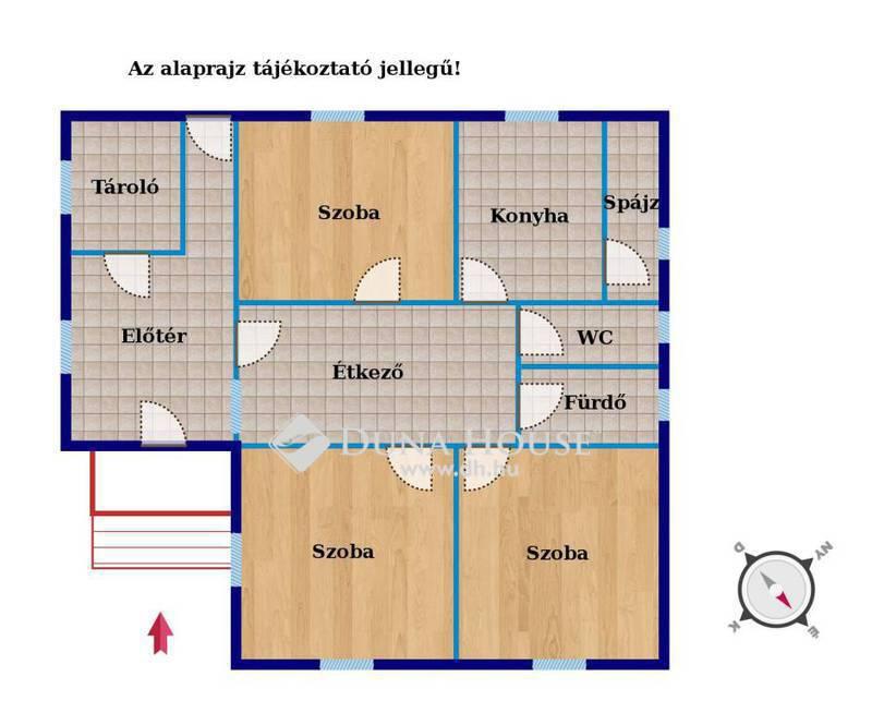 Eladó Ház, Veszprém megye, Szentkirályszabadja, Csendes utcában