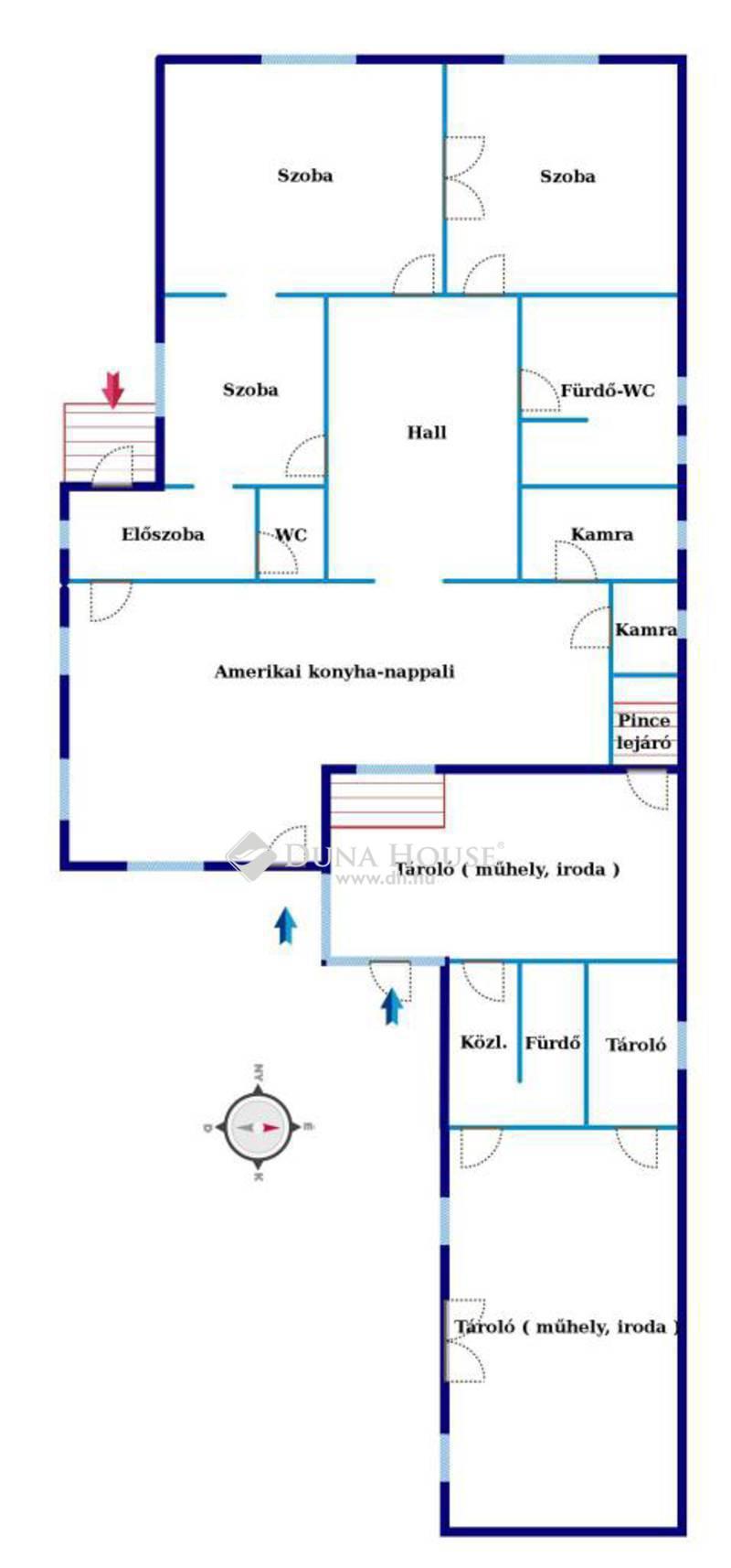 Eladó Ház, Somogy megye, Kaposvár, *** Egyenesi út, nappali+3 szobás ház