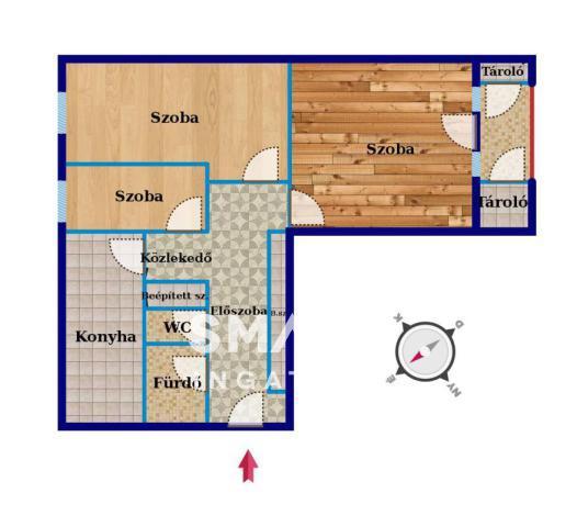 Eladó Lakás, Bács-Kiskun megye, Kecskemét, Belváros