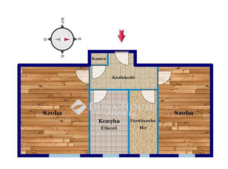 Eladó Lakás, Bács-Kiskun megye, Kecskemét, Batthyány utca - TÉGLA szerkezetű