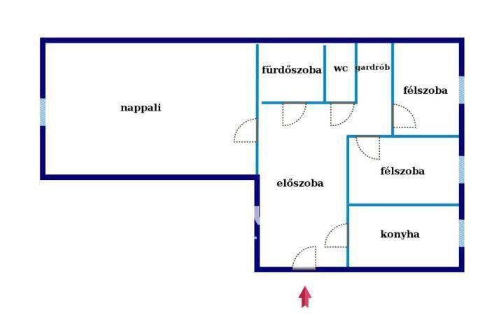 Eladó Lakás, Budapest, 3 kerület, Békásmegyeri lakótelep Hegy felőli oldala