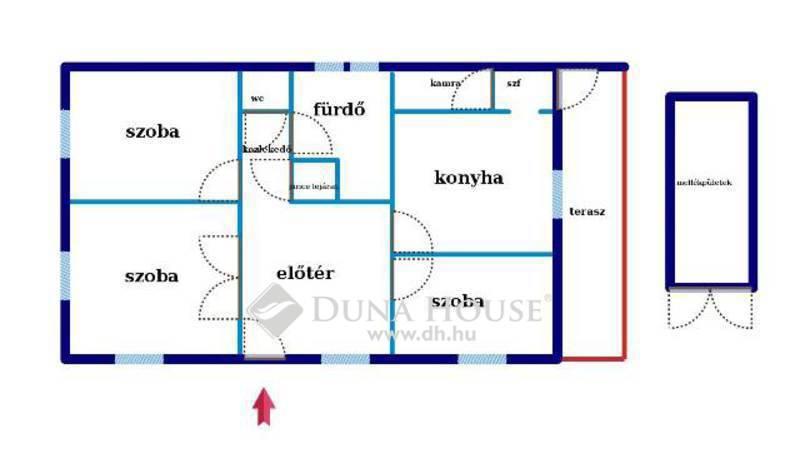 Eladó Ház, Bács-Kiskun megye, Kecskemét, Kecskeméttől 35 km-re Fülöpszálláson SZIGETELT ház