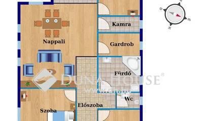 Eladó Ház, Bács-Kiskun megye, Kecskemét, Új építés Nappali +3 szoba