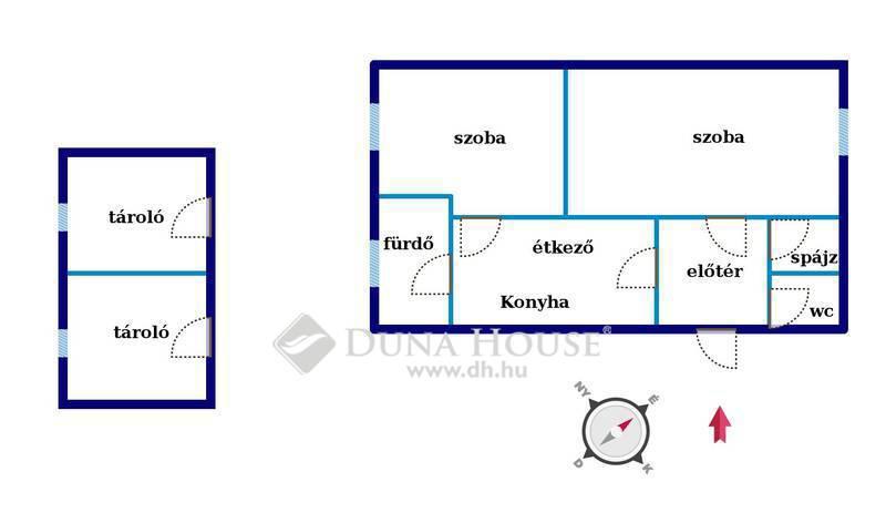Eladó Ház, Bács-Kiskun megye, Kecskemét, Vacsiköz csendes része