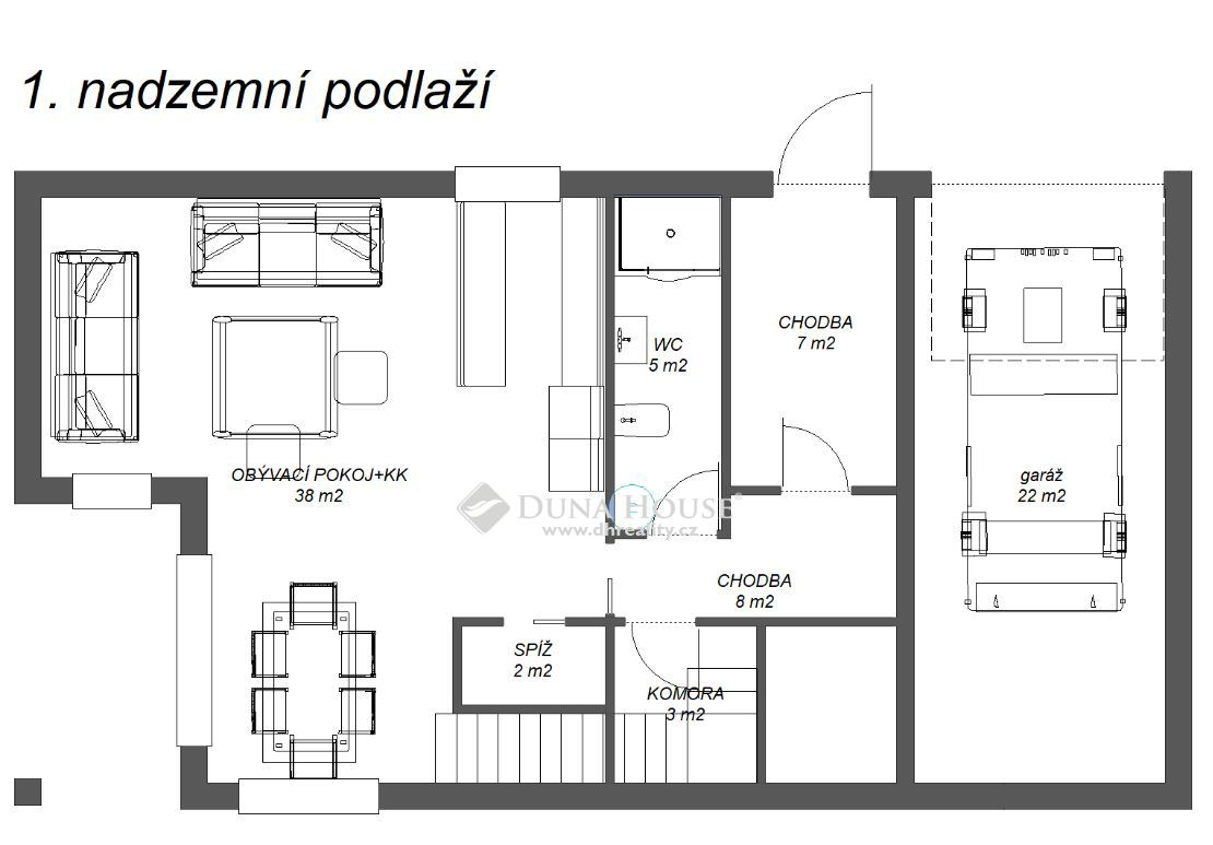 Prodej bytu, Dobřejovice, Okres Praha-východ