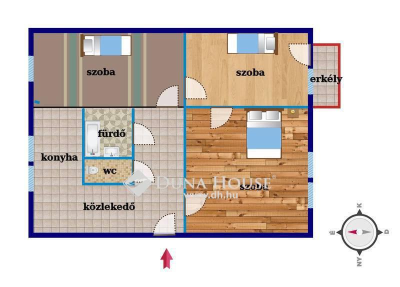 Eladó Lakás, Hajdú-Bihar megye, Debrecen, Ibolya utca