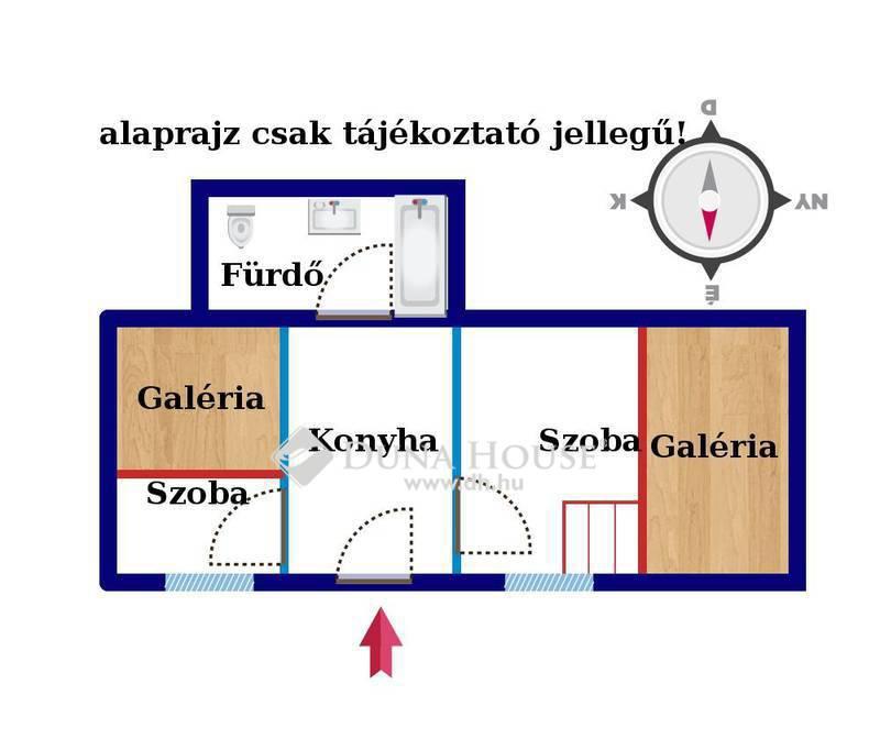 Eladó Lakás, Budapest, 8 kerület, Kis lakás a Népszínház utcánál