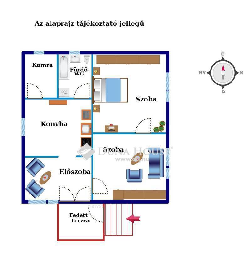 Eladó Ház, Zala megye, Tófej, Település eleje