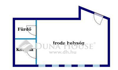 Eladó Iroda, Budapest, 2 kerület, Millenáris közelében utcai portálú iroda