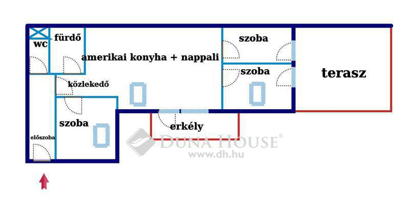 Eladó Lakás, Budapest, 4 kerület, Megyeri újépítés, erkélyes ,teraszos, 4 szoba