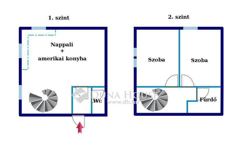 Eladó Lakás, Pest megye, Nagykőrös, Kecskeméttől 10 percere - Nappali + 2 szobás