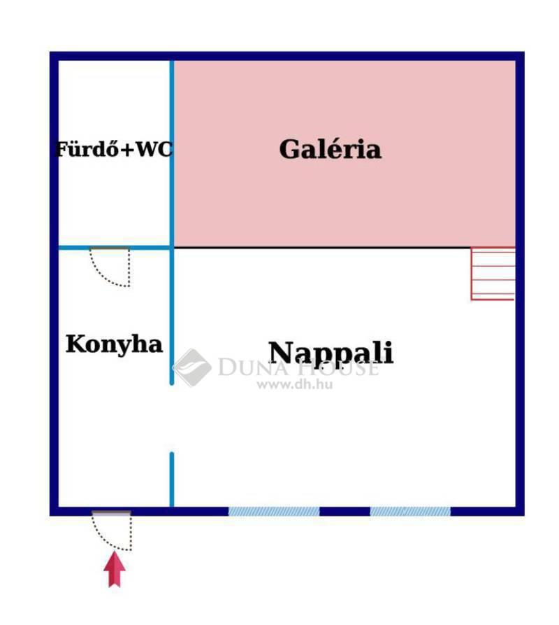 Eladó Lakás, Budapest, 7 kerület, FELÚJÍTOTT, GALÉRIÁS, AZONNAL KÖLTÖZHETŐ GARZON