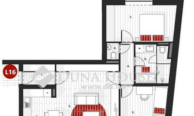 Eladó Lakás, Zala megye, Zalaegerszeg, III.em, nappali + 2 szobás penthouse