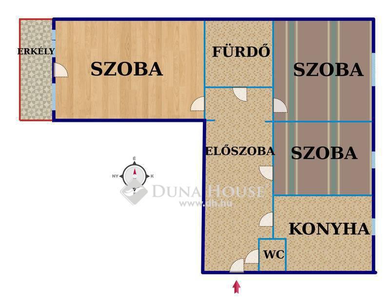 Eladó Lakás, Baranya megye, Pécs, Zsolnay Vilmos utca