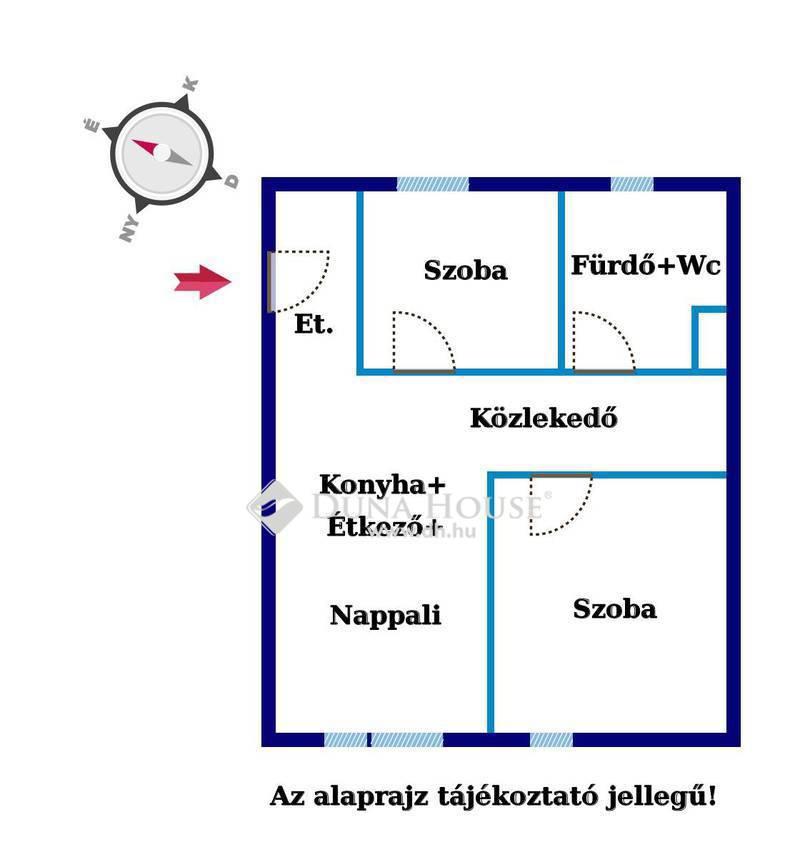 Eladó Lakás, Győr-Moson-Sopron megye, Győr, Pinnyédi sorházi lakás L2/B