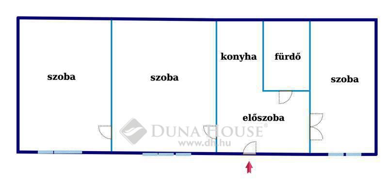 Eladó Lakás, Budapest, 5 kerület, 3 szobás lakás a Deák térnél
