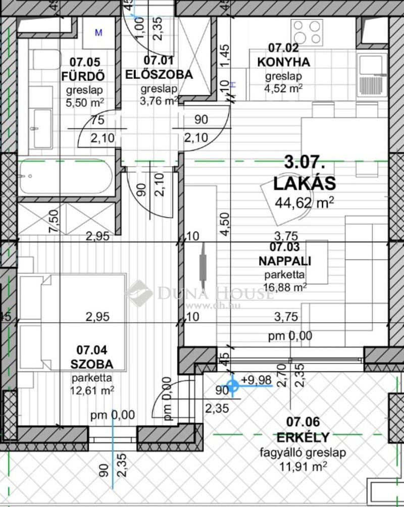 Eladó Lakás, Budapest, 11 kerület, ÚJ ÉPÍTÉSŰ, MINŐSÉGI OTTHONOK KELENFÖLDÖN