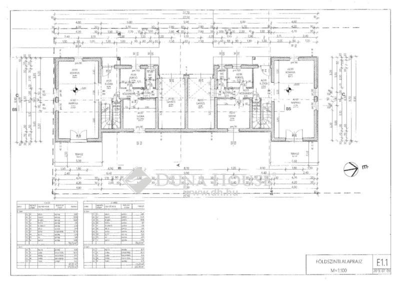 Eladó Ház, Pest megye, Nagytarcsa, Nyár végi átadású 125 nm-es iker első, garázzsal