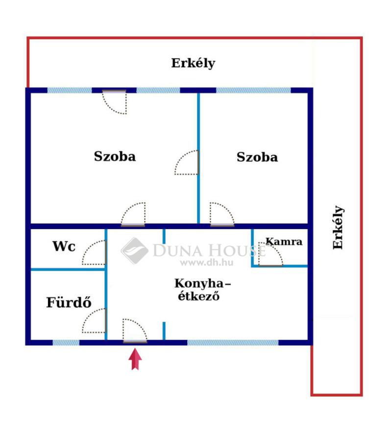 Eladó Lakás, Bács-Kiskun megye, Kecskemét, Körpanorámás Belvárosi lakás 20 nm. erkéllyel