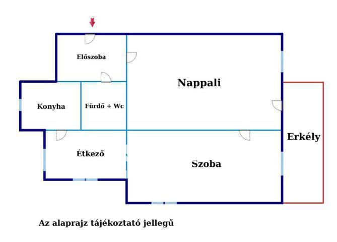 Eladó Lakás, Budapest, 11 kerület, Napfényes, erkélyes lakás Sasadon