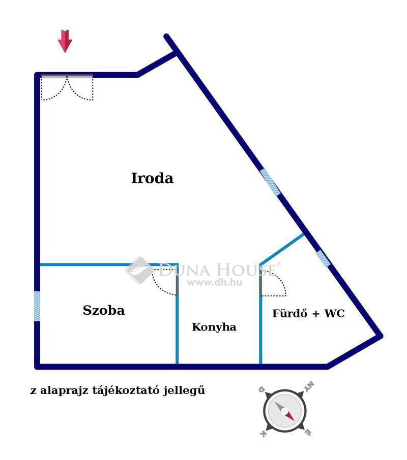 Eladó Iroda, Budapest, 14 kerület, Újszerű épületben utcai üzlethelyiség beruházótól